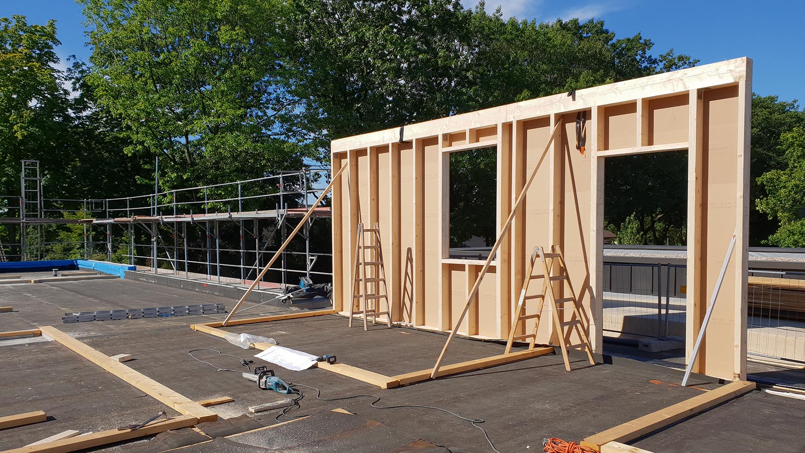Holzrahmenbau KITA 1 | architekturbüro thomas mischo